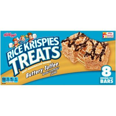 Kellogg's Rice Krispies Treats Buttery Toffee Crispy Marshmallow Squares
