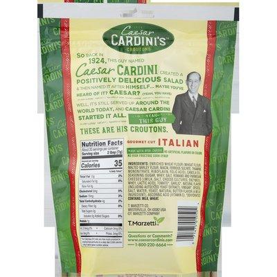 Cardini's Gourmet Cut Italian Croutons