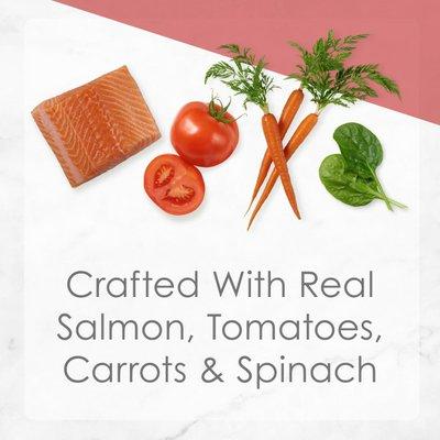 Fancy Feast Pate Wet Cat Food, Medleys Wild Salmon Primavera With Garden Veggies & Greens