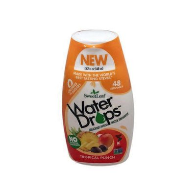 SweetLeaf Water Drops Tropical Punch Delicious Stevia Water Enhancer