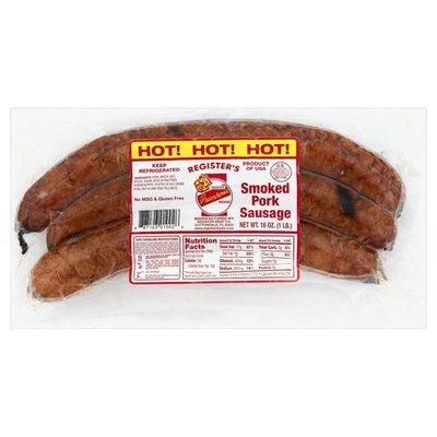 Primrose Smoked Pork Sausage, Hot