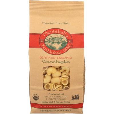 Montebello Conchiglie, Organic
