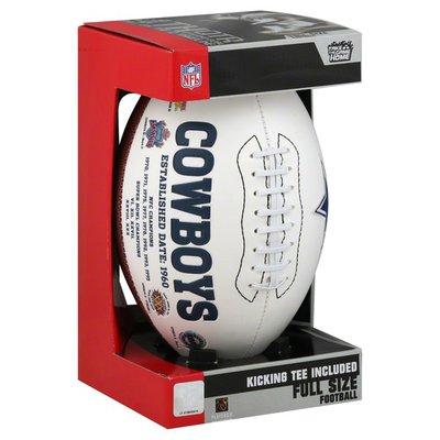 Players Rawlings Dallas Cowboys Signature Series Full-Size Football - Dallas Cowboys
