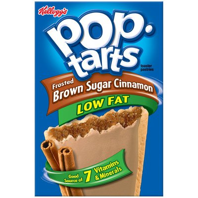 Kellogg's Pop-Tarts Low Fat Frosted Brown Sugar Cinnamon Toaster Pastries