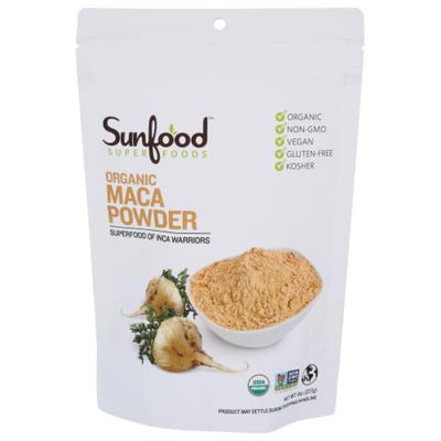 Sunfood Superfoods Raw Organic Maca Powder