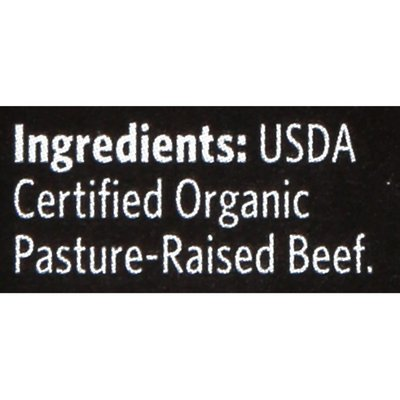 Organic Prairie 85% Lean 15% Fat Organic Pasture-raised Ground Beef