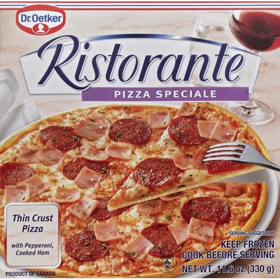 Virtuoso Pizza Thin + Crispy Crust Pepperoni & Ham