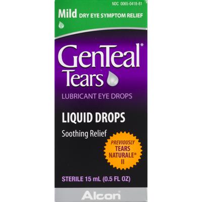 GenTeal Tears Lubricant Eye Drops Mild