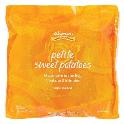 Wegmans Sweet Potatoes, Petite, Cleaned and Cut