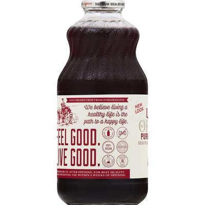 Lakewood Pressed Juice, Organic, Fresh, Pure Pomegranate