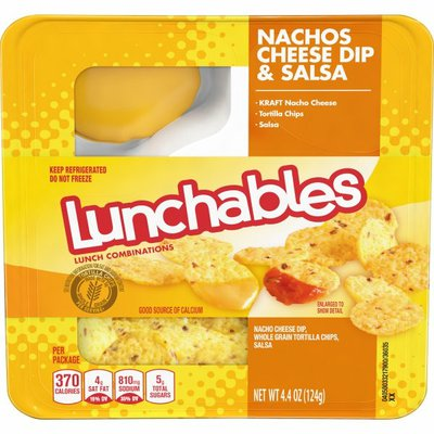 Lunchables Nachos Cheese Dip & Salsa Snack Kit