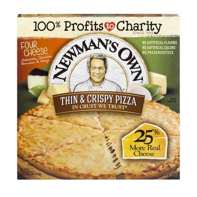 Newman's Own Thin & Crispy Pizza Four Cheese