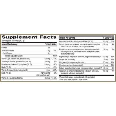 Emergen-C Vitamin C Fizzy Drink Mix Tropical Flavor, Vitamin C Fizzy Drink Mix Tropical Flavor