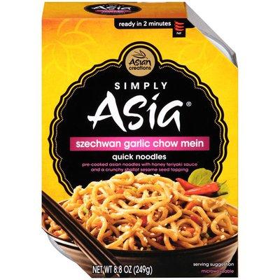 Simply Asia Szechwan Garlic Chow Mein Quick Noodles