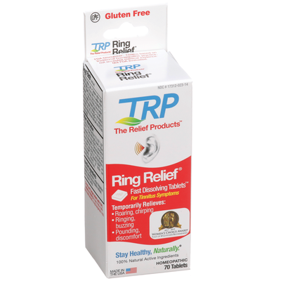 The Relief Products Ring Relief Fast Dissolving Tablets
