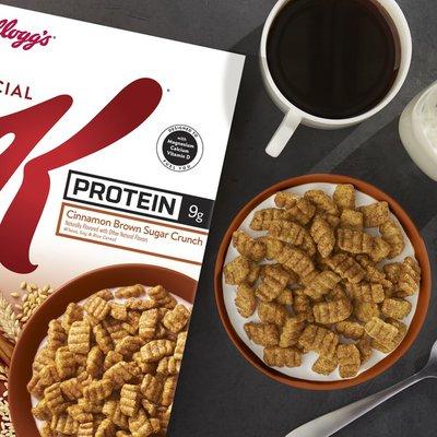 Kellogg's Special K Protein Breakfast Cereal Cinnamon Brown Sugar Crunch