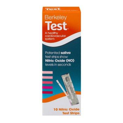 Berkeley Test Nitric Oxide Test Strips - 10 CT