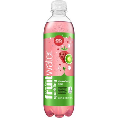 Glaceau Fruitwater Strawberry Kiwi Sparkling Water Beverage