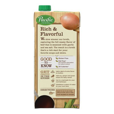 Pacific Foods Beef Broth