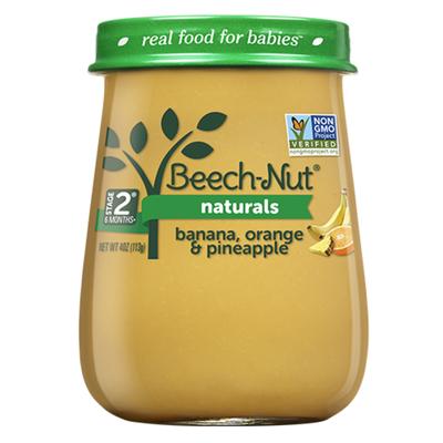 Beech-Nut Naturals Banana, Orange & Pineapple