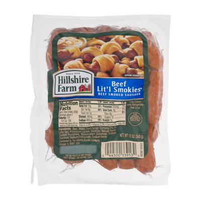 Hillshire Farm Beef Lit'l Smokies Smoked Sausage