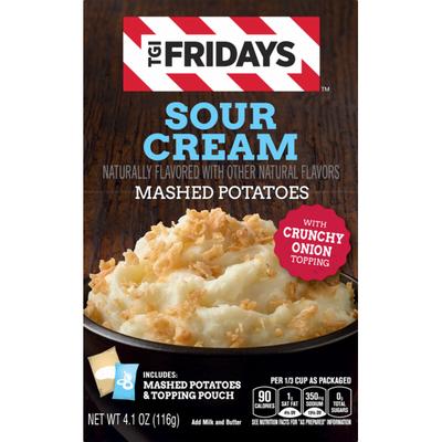 TGI Fridays Sour Cream Mashed Potatoes