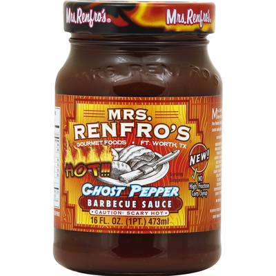 Mrs. Renfro's Barbecue Sauce, Ghost Pepper
