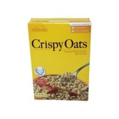 Millville Essential Goodness Crispy Toasted Whole Grain Oat Cereal