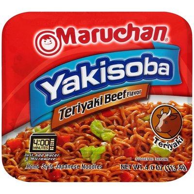 Maruchan Yakisoba Teriyaki Beef Flavor