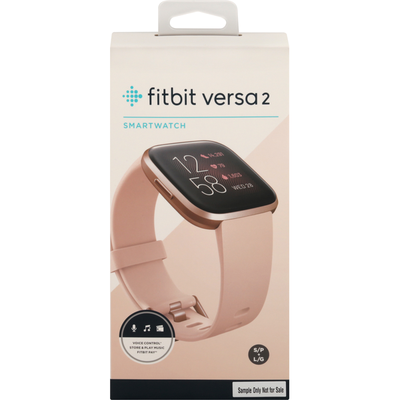Fitbit Versa 2 Smartwatch - Peach