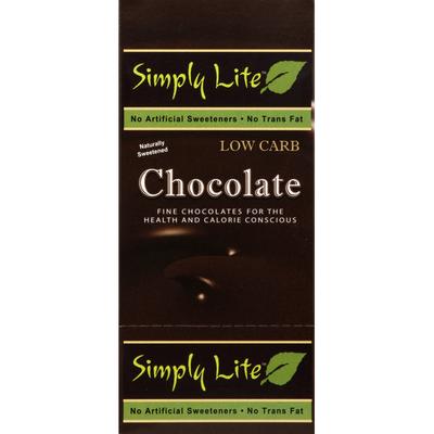 Simply Lite Dark Chocolate, 50% Cacao