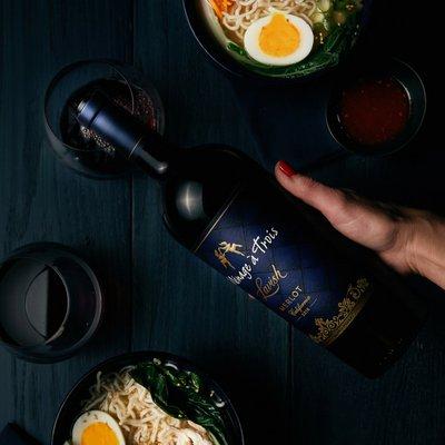 Menage a Trois Lavish Merlot Red Wine