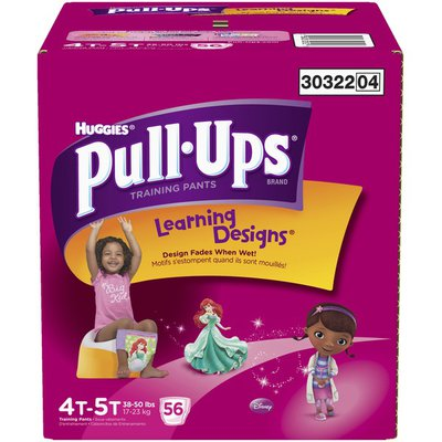 Pull-Ups Learning Designs Girls 4T-5T Training Pants
