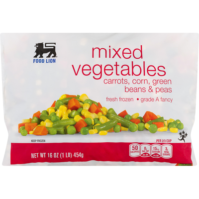 Food Lion Mixed Vegetables