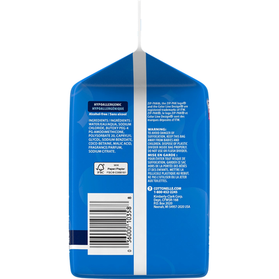 Cottonelle Flushable Wet Wipes Refill Pack