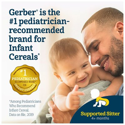 Gerber Single-Grain Rice Baby Cereal