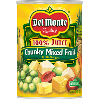 Del Monte Chunky Mixed Fruit in Juice