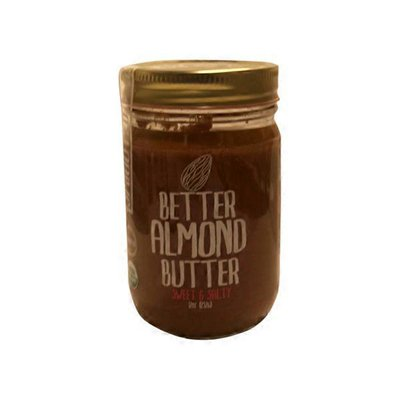 Better Almond Butter Sweet Salted Sprouted Almond Butter