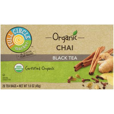 Full Circle Chai Black Tea Bags
