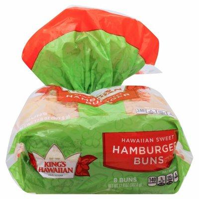 King's Hawaiian Hawaiian Sweet Hamburger Buns