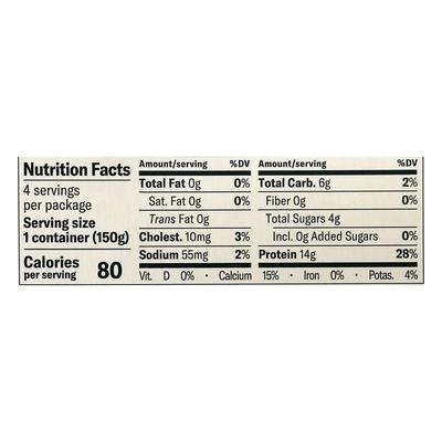 Chobani Yogurt, Greek, Non-Fat Plain, Value 4 Pack