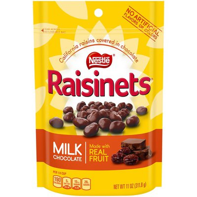 Raisinets Sun-Ripened, Plump Juicy California Raisins Tucked in Rich, Creamy Milk Chocolate Covered Raisins