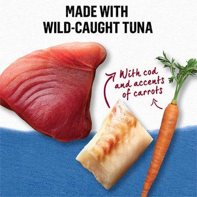 Beyond Natural Wet Cat Food in Gravy, Wild Caught Tuna & Wild Alaskan Cod Recipe