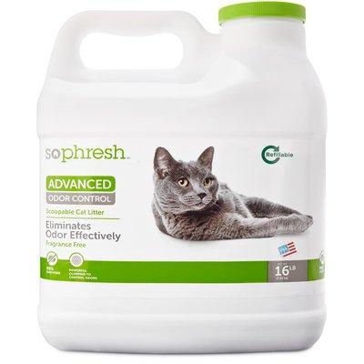 So Phresh Advanced Odor Control Scoopable Cat Litter Fragrance Free