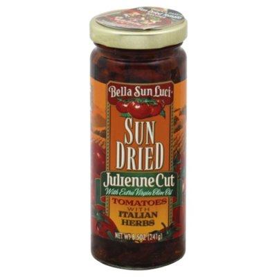 Bella Sun Luci Sun Dried Tomatoes, Julienne Cut, with Italian Herbs