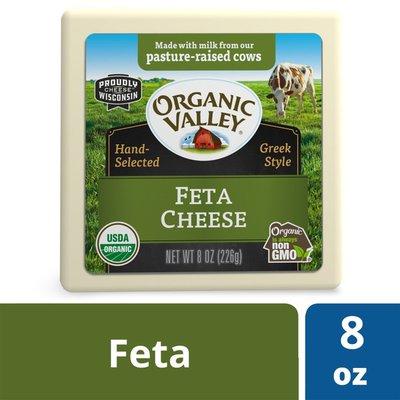 Organic Valley Greek Style Organic Feta Cheese Block