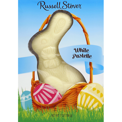 Russell Stover White Pastelle, Solid