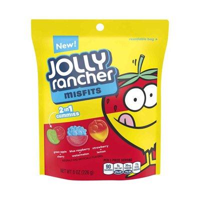 Jolly Ranchers Gummies, 2 in 1, Misfits