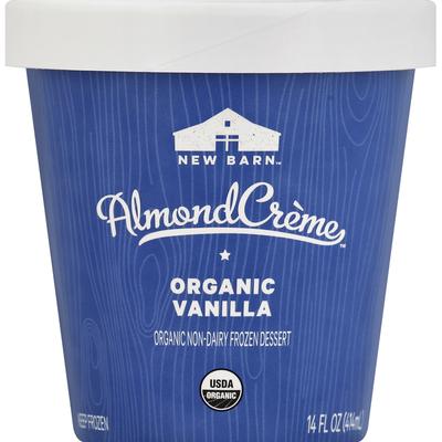 New Barn Frozen Dessert, Non-Dairy, Organic, Vanilla