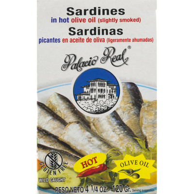 Palacio Real Sardines In Olive Oil Hot
